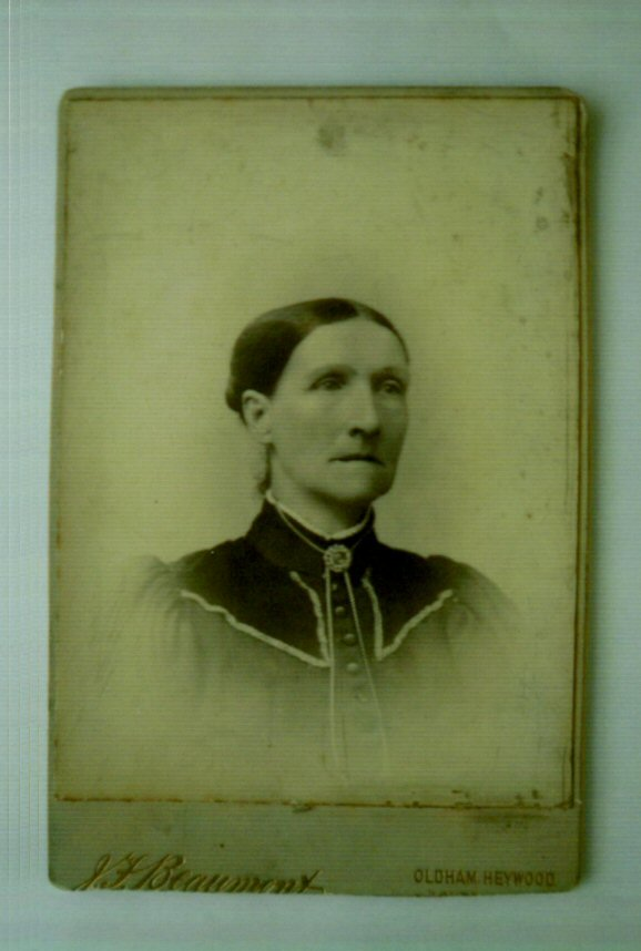 Mrs. Garside, mother of Thomas Douglas Hamilton Garside