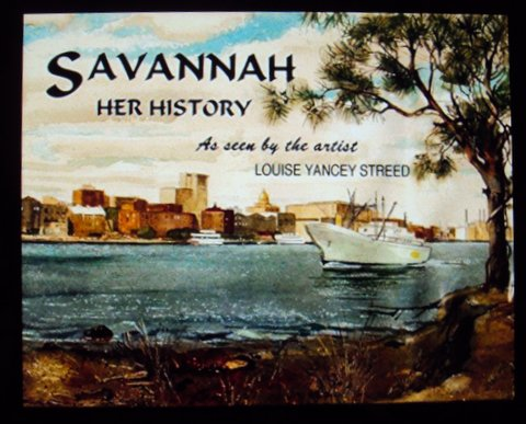 COVER OF BOOK - SAVANNAH